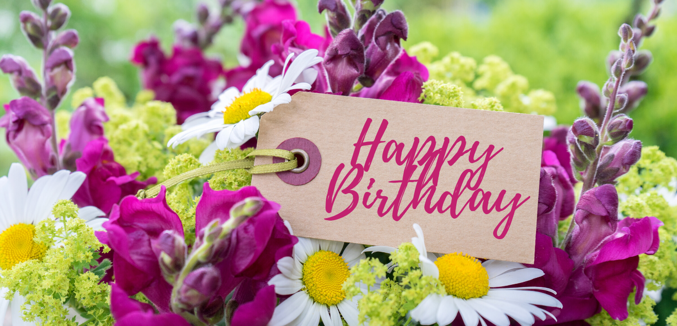 15 Ways To Gift Happy Birthday Flowers The Gift Bulb