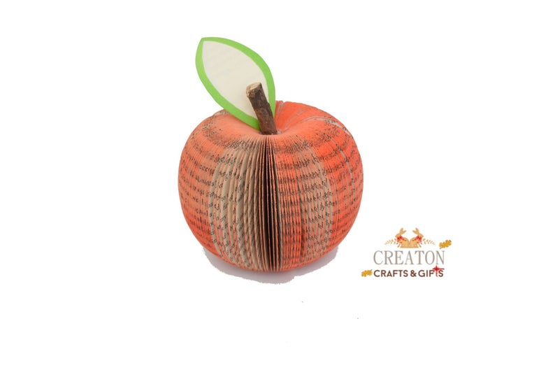 3D Book Art Fruit Shapes
