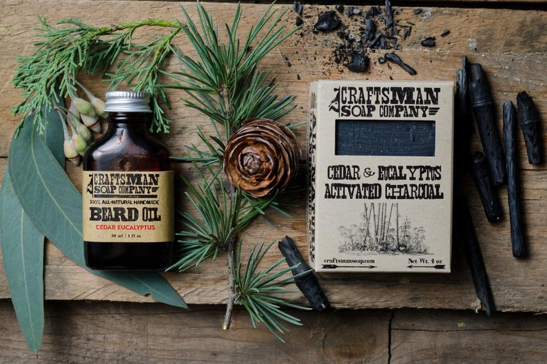 Beard Oil and Soap Gift Set