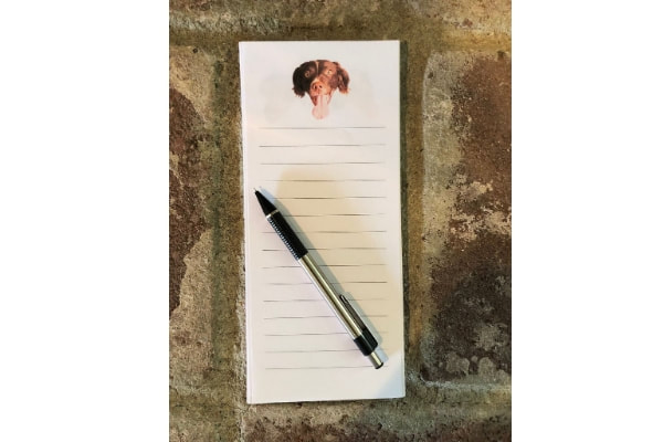 Customized Dog Notepad