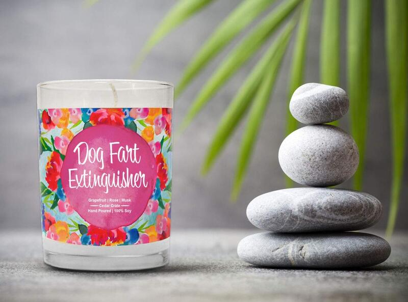 Dog Odor Eliminator Candle