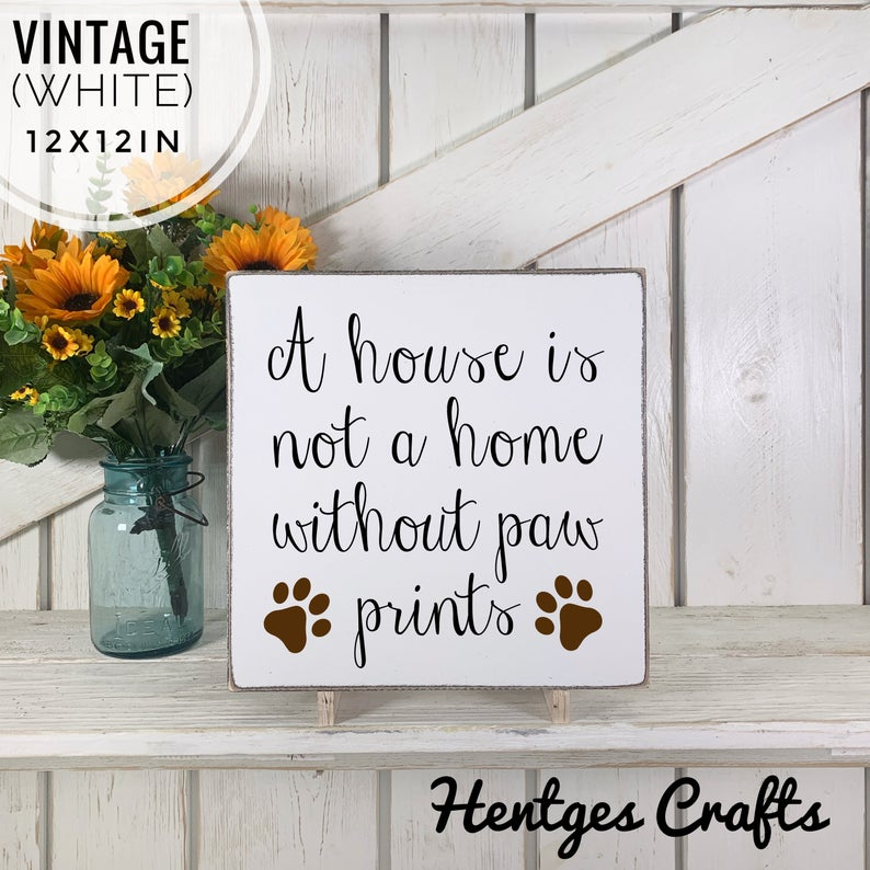 Dog Lovers Wall Art Sign