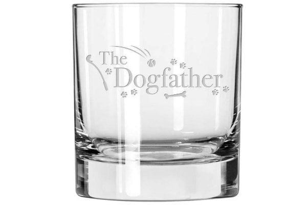 Dog Lovers Whiskey Glass