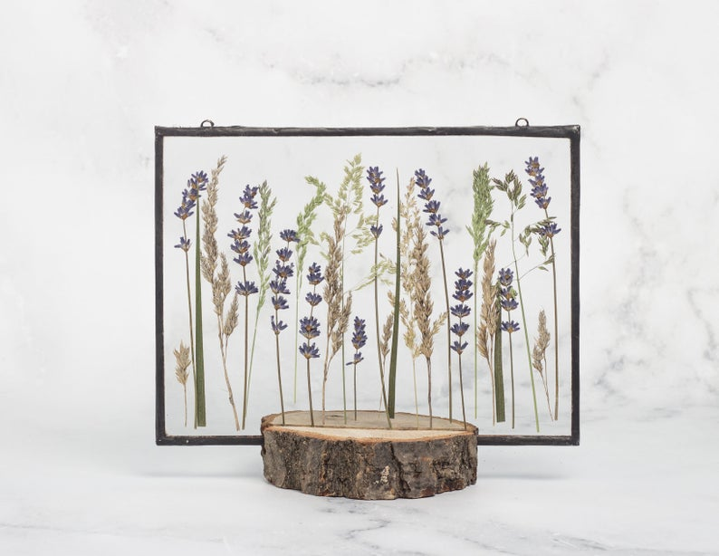 Dried Lavender Decor
