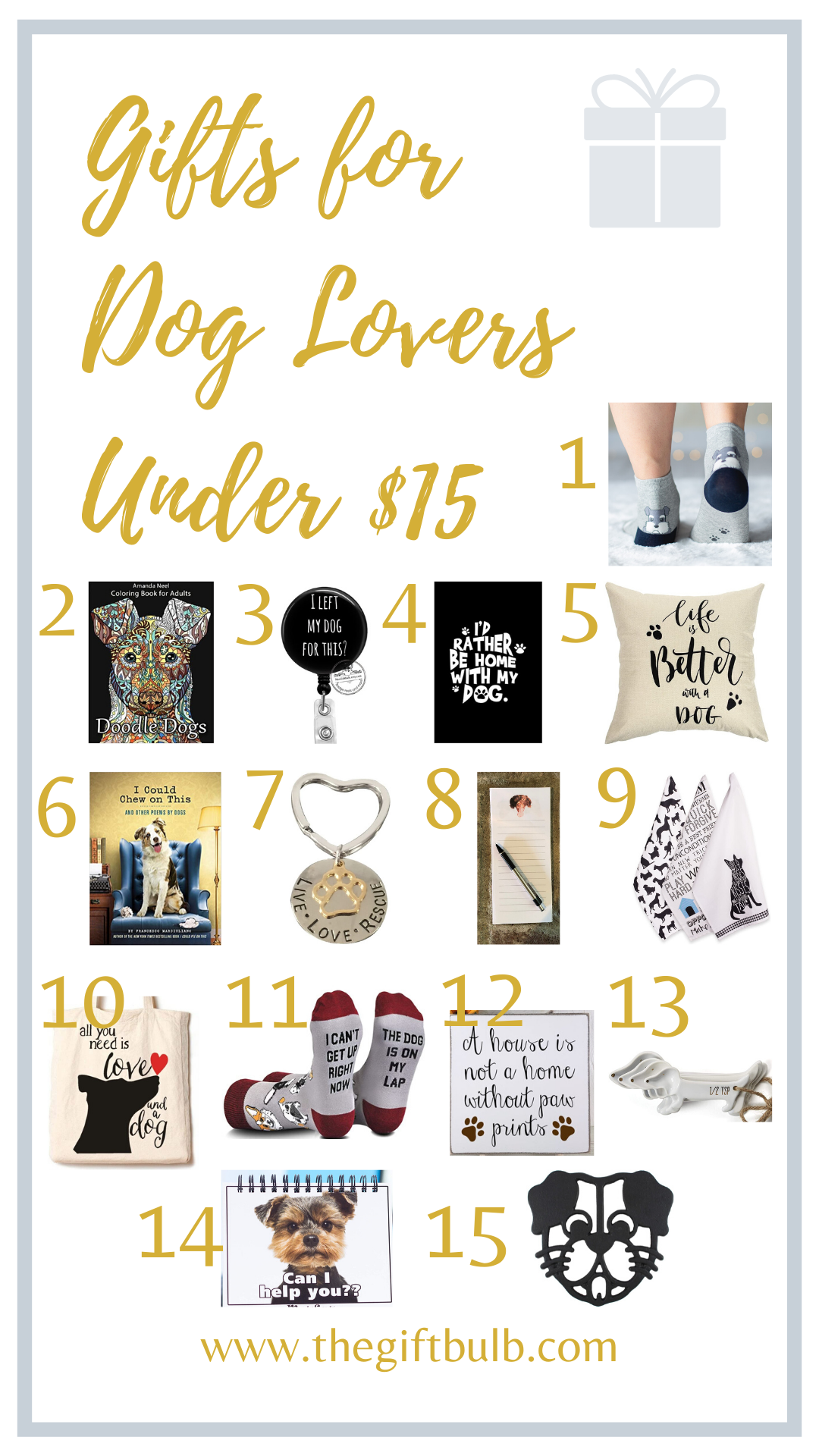 Gifts for Dog Lovers Under 15