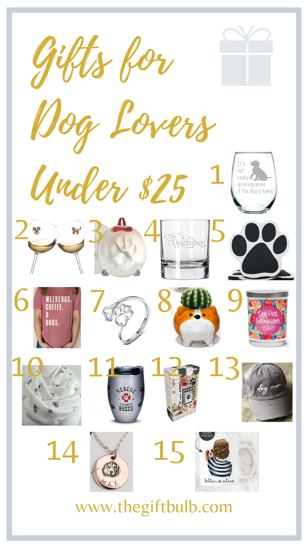 Gifts for Dog Lovers Under 25