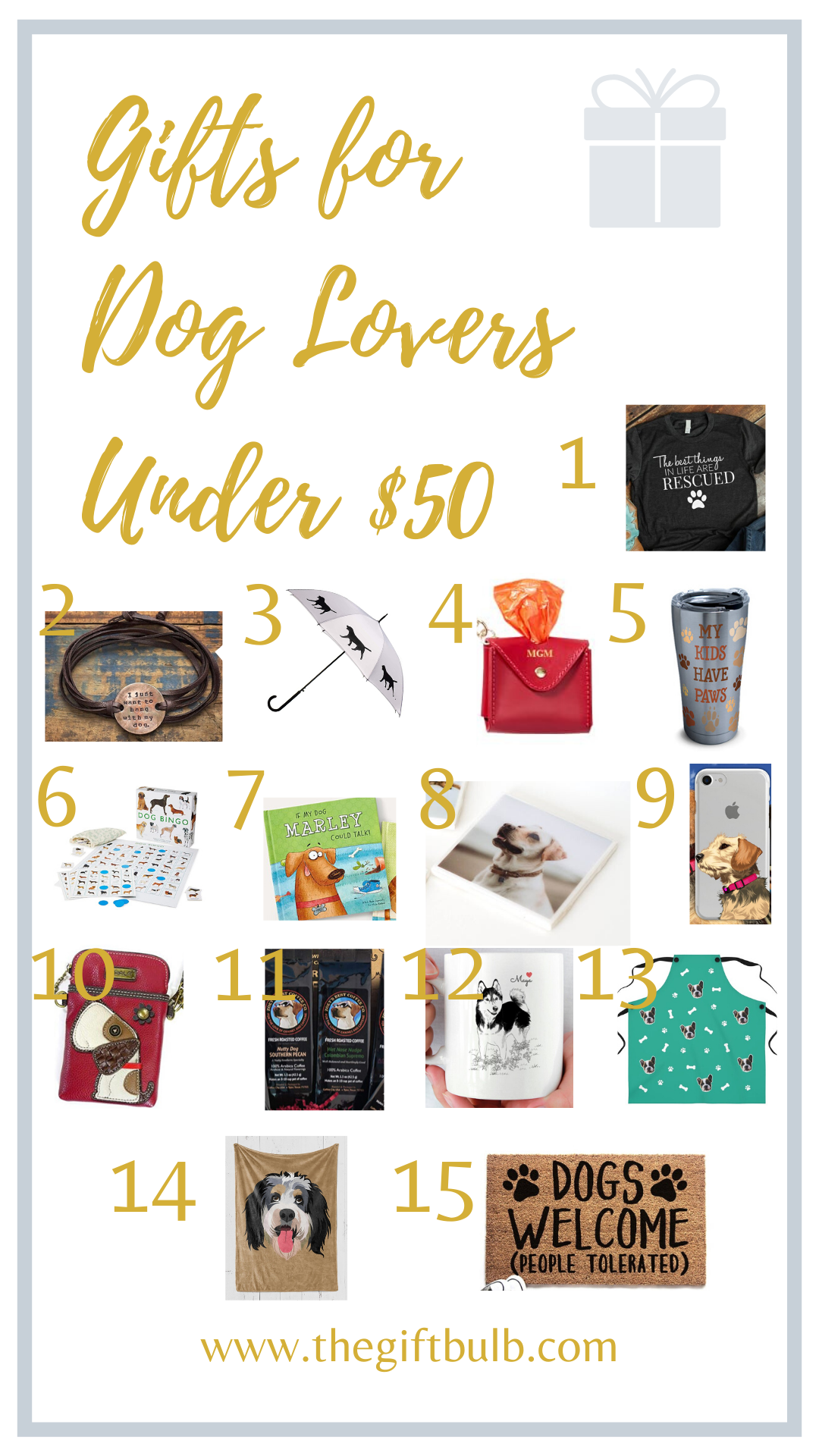 Gifts for Dog Lovers Under 50