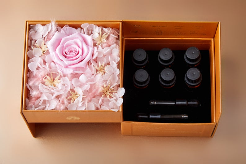 Immortal Flower Gift Set