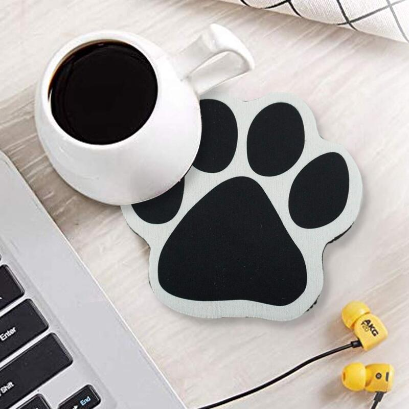 Pawprint Coasters