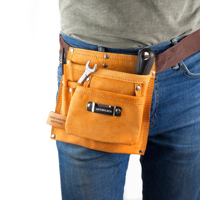 Personalized Leather Tool Belt